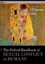 Oxford Handbook of Sexual Conflict in Humans