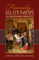 Family relationships: An evolutionary perspective.